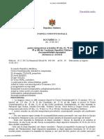 Hotarîrea CC nr. 21 din 2015