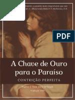 Contrição Perfeita - A Chave de Ouro para o Paraíso