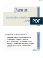 01. Introduction to health research