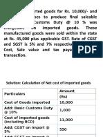 GST Numericals2