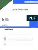 lte measurement events