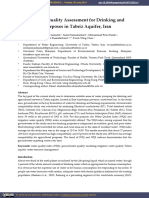 Groundwater Quality Assessment for Drinking and Agricultural Purposes in Tabriz Aquifer, Iran.pdf