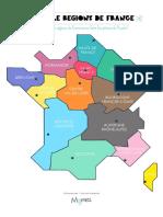France Puzzle Des Regions