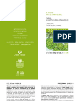 Ciclos De Paisaje - Programa 2010/2011
