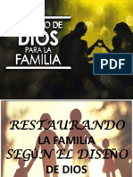EL DISEÑO DE DIOS PARA LA FAMILIA