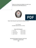 MAKALAH AUDIT KELOMPOK 4 Bab 6 Perencanaan Perikatan Bagian 2
