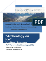 artifact a archeology on ice visitor report