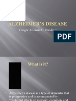 Alzheimer's Disease (mini presentation)