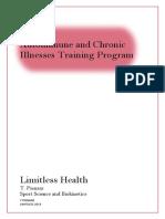 PDF Autoimmune and Chronic Illnesses Training Program