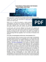 The Development History of Five Amino Acid Analysis Technologies (Part One)