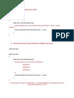 How to initialize an  ArrayList