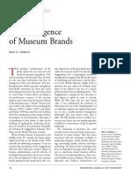 Studiu de caz. The Emergence of Museum Brands