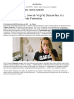 'Teoria King Kong', livro de Virginie Despentes,