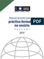 G- Universidad central 2019 - Manual docente práctica formativa no sexista.pdf