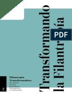2018 TRANSFORMANDO LA FILANTROPIA - FILANTROPIA TRANSFORMADORA.pdf