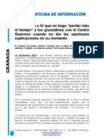 Reunión Plataforma Por el Centro Guerrero