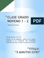 CLASE GRADO NOVENO 1 - 2