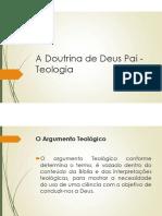 material de apoio A Doutrina de Deus Pai - Teologia