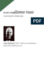Formalismo ruso - Wikipedia, la enciclopedia libre