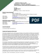 Syllabus 4- Financial Management - Spring 2020 (2)