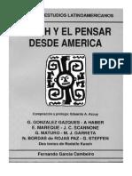 Scannone El horizonte tridimensional del pensar filosófico latinoamericano