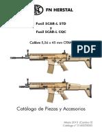 FUSIL 5.56 SCAR-H STD Y CQC