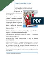 LA CONSTITUCIÓN POLÍTICA DEL PERÚ CIVICA  2020