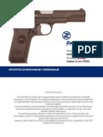Uputstvo Za Pistolj M57 i M70A