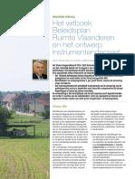 Het Witboek BRV en Ontwerp Instrumentendecreet