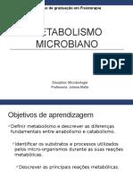 Metabolismo Microbiano