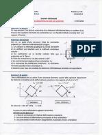 Exam ELAS M1CM2014 Correction