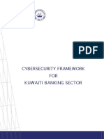 The Central Bank of Kuwait institutes this cyber Framework