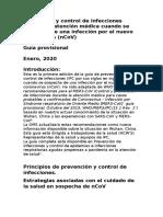 Guía Coronavirus OMP- nCoV