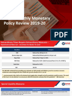 Bi Monthly Monetary Policy - Mar 2020 Kotak MF