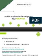 memulai dengan Android