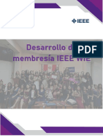 Membresia IEEE WIE 2020
