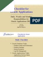Apps Checklist