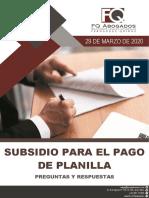 PREGUNTAS Y RESPUESTAS SUBSIDIO PARA EL PAGO DE PLANILLA.pdf