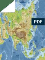 Mapa de Asia Fisicojose-garcia-Adan