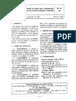 NBR MB 00298 - Método de Ensaio para a Determinação do Teor de Sal em Petróleo e Derivados