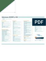 Chuleta - Selectores CSS y JQuery