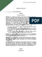 Proyecto Ley Esfuerzo Colectivo Integral