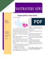 Toastmasters News -edición diciembre 2010