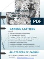 Chapt 8- CARBON LATTICES and NANOMATERIALS