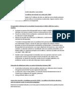 recopilacion de datos discapacidad e inclusión educativa