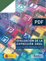 Evaluación de la expresión oral - Educación Primaria