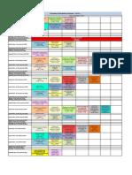 Calendário de aulas