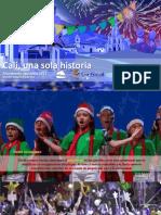 Alumbrado navideño Cali 2017
