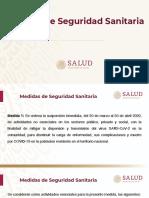 CPM Medidas de Seguridad Sanitaria, 31mar20