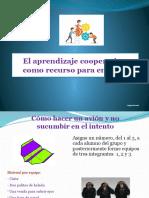 El aprendizaje cooperativo como recurso para enseñar 1